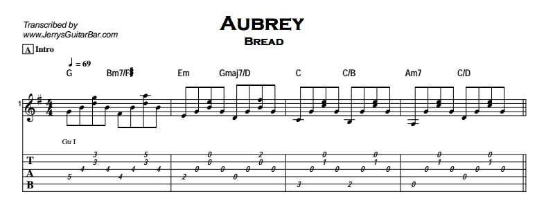 Bread - Aubrey Tab