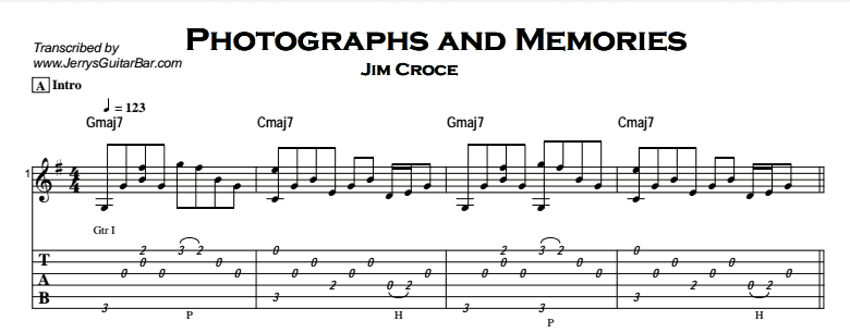 Jim Croce Photographs And Memories Jerrys Guitar Bar