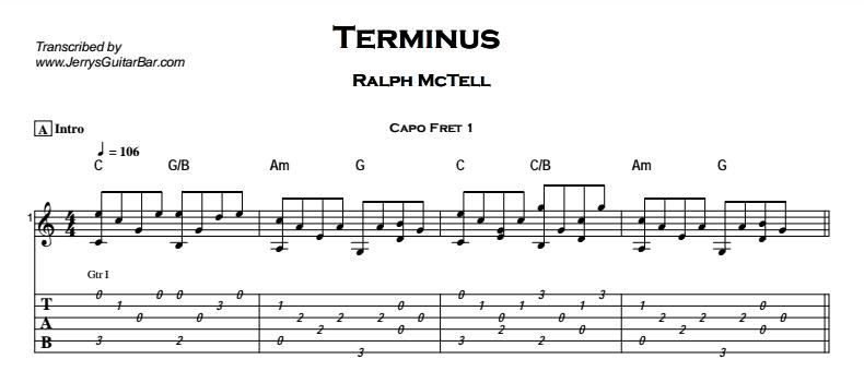 Ralph McTell - Terminus Tab