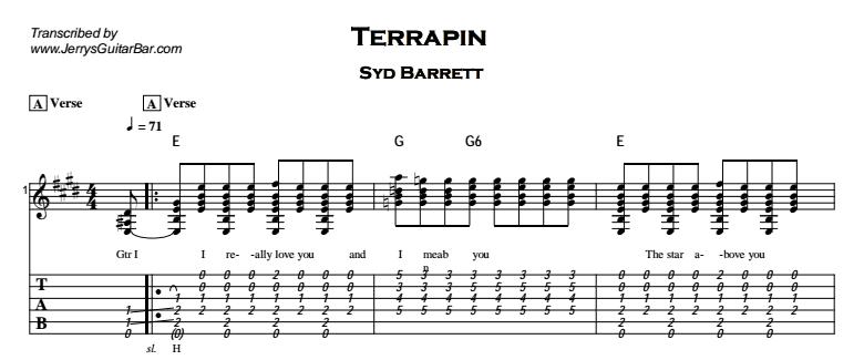 Syd Barrett - Terrapin Tab