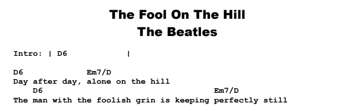 The Beatles - The Fool On The Hill - Guitar Lesson by Jerry\'s Guitar Bar