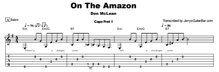 Don McLean - On The Amazon Tab