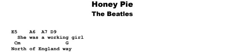 The Beatles - Honey Pie Guitar Lesson Chords & Songshet Preview